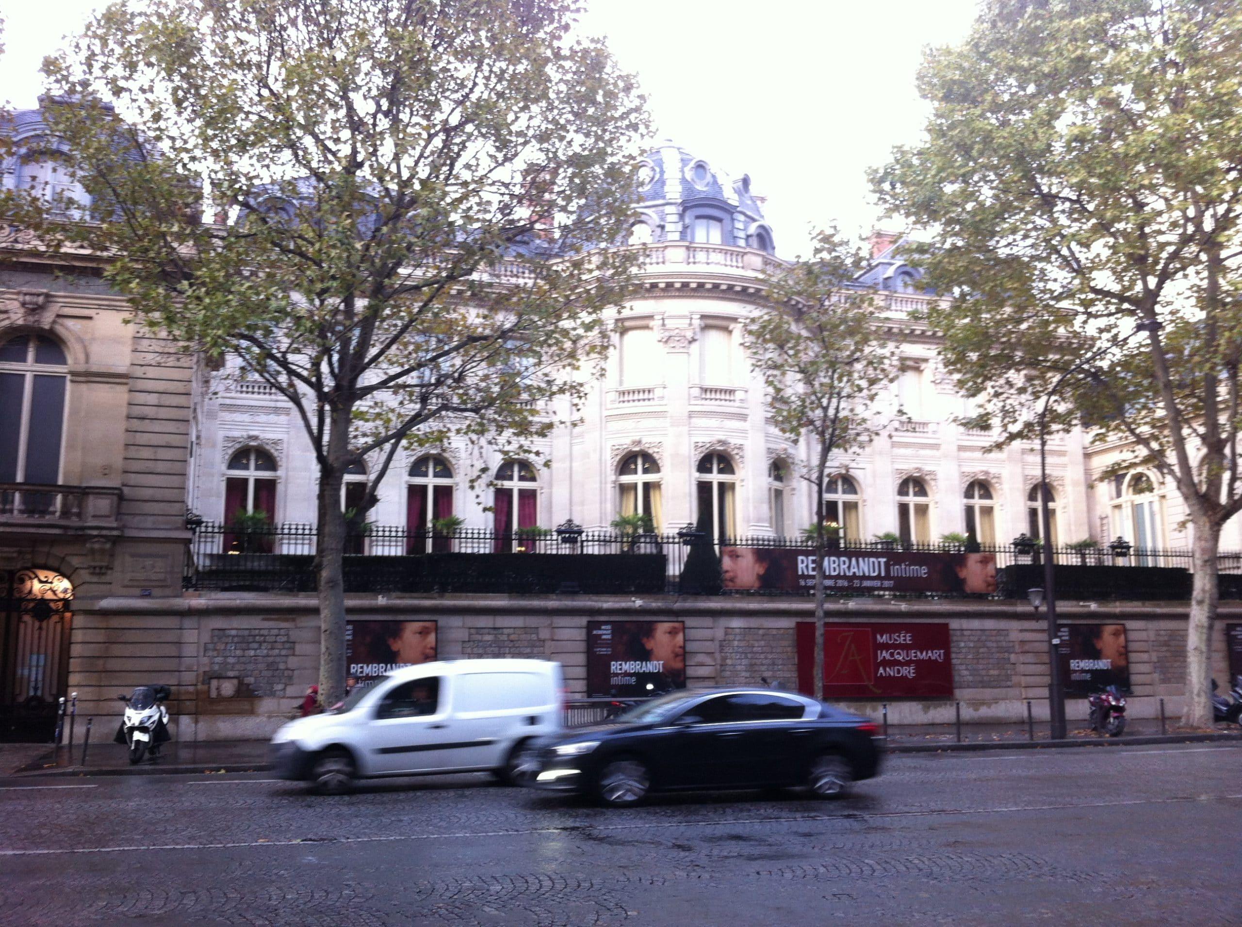 Musée Jacquemart-André, sur le Boulevard Haussmann