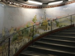 Fresque Métro Abbesses