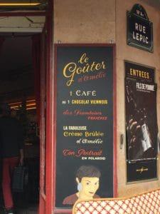Café Amélie Poulain