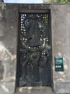 Porte cimetière Calavire