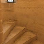 Escalier du balcon de la Sainte-Chapelle - Crédit photo : Sébastien Gouillard